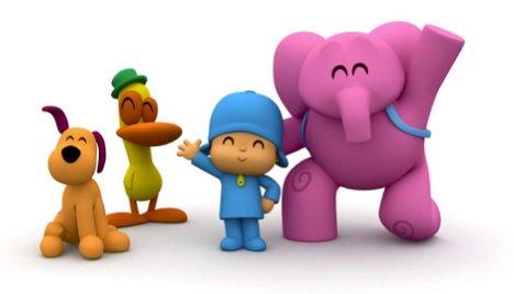 Pocoyo, serie de dibujos animados
