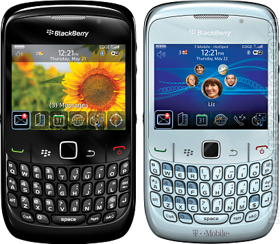 Blackberry Curve 8520 videos